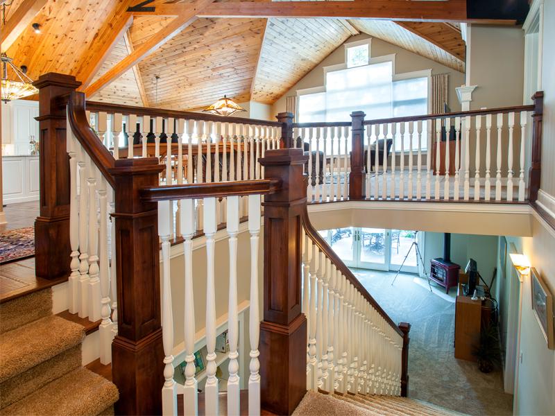 Speciality Craftsmanship. Portfolio U003e Speciality Craftsmanship U003e Craftsman  Style Staircase