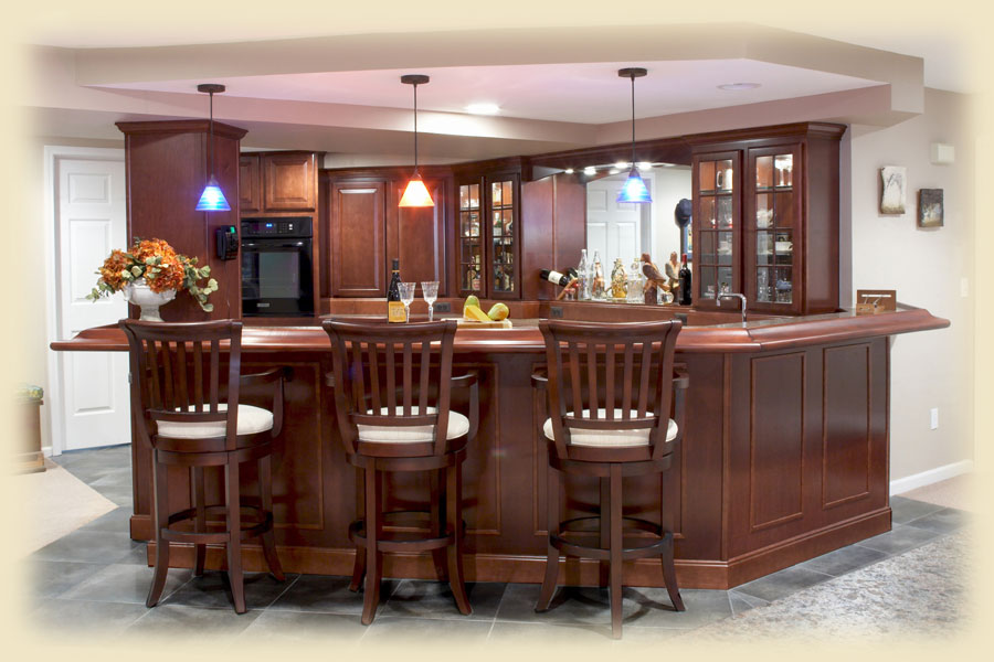 Bar ideas for basement - Bar decorating ideas pictures ...
